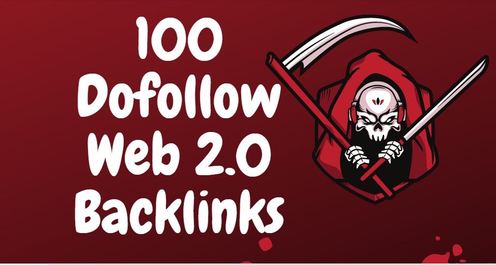 I will do 100 web 2.0 blogs properties contextual dofollow backlinks