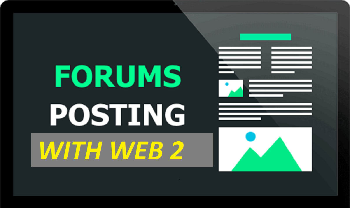 Rank 5 education forum posting,  5 web 2 0 properties contextual backlinks