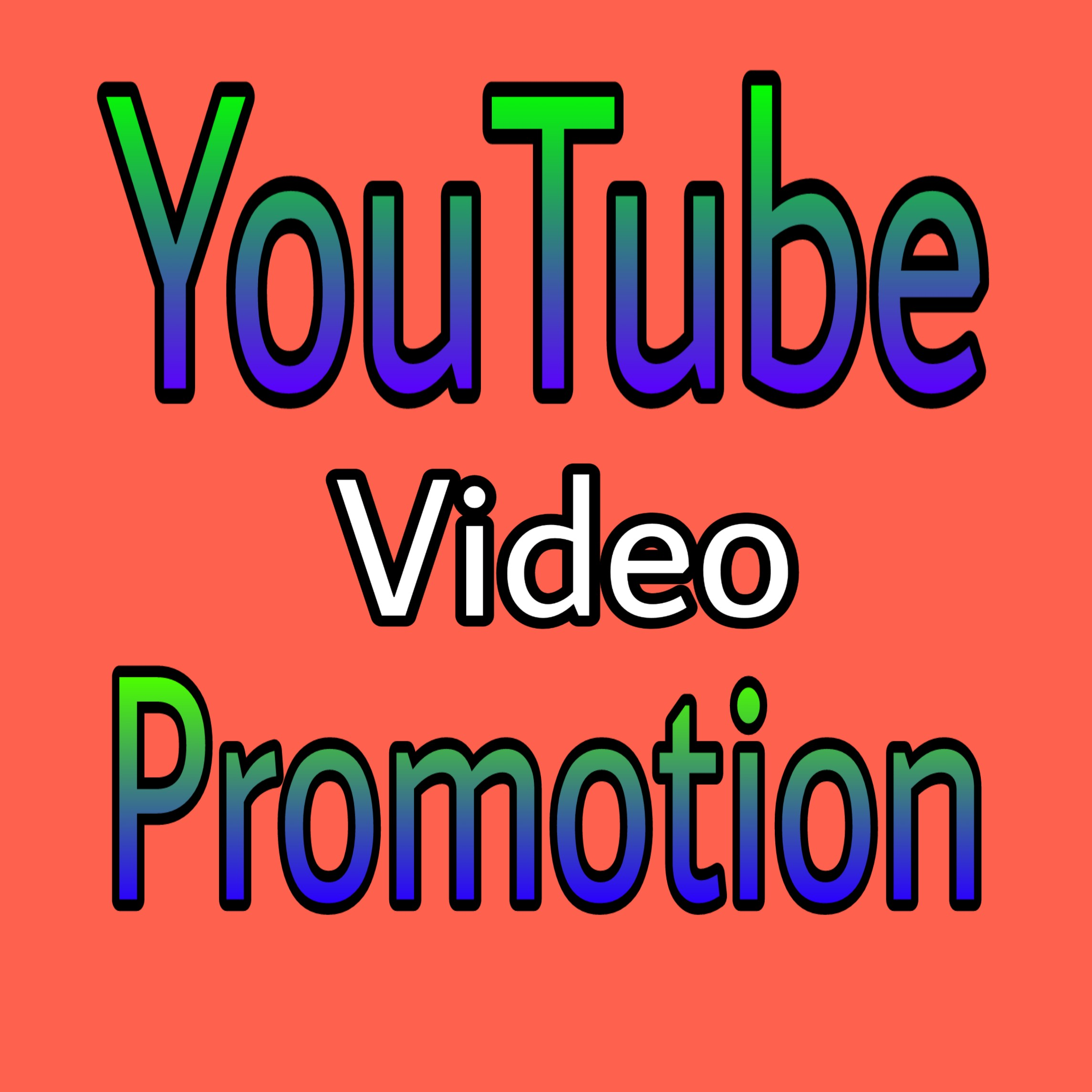 YouTube Video Promotion Marketing Via