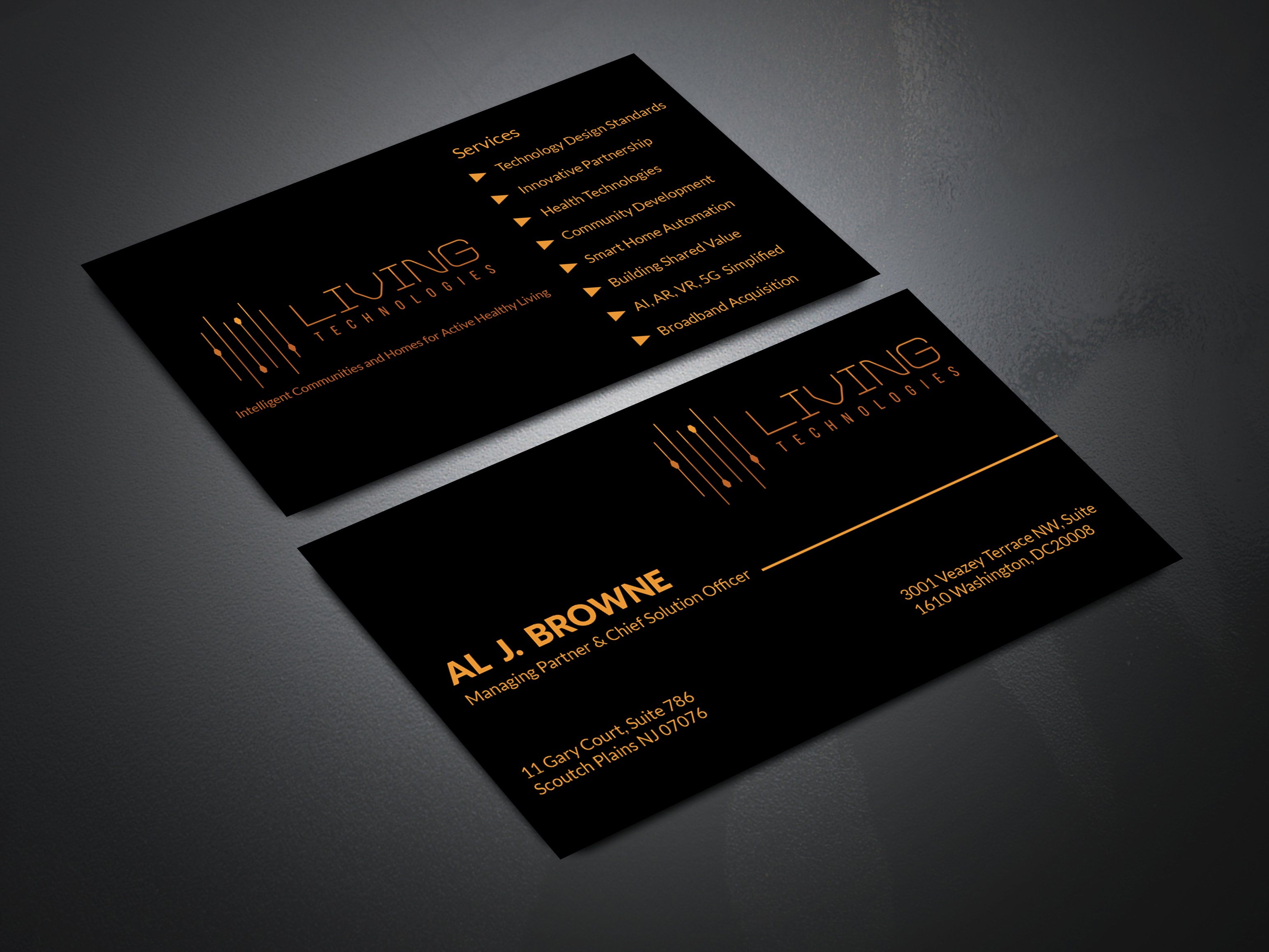 I will do luxury and minimal business card design