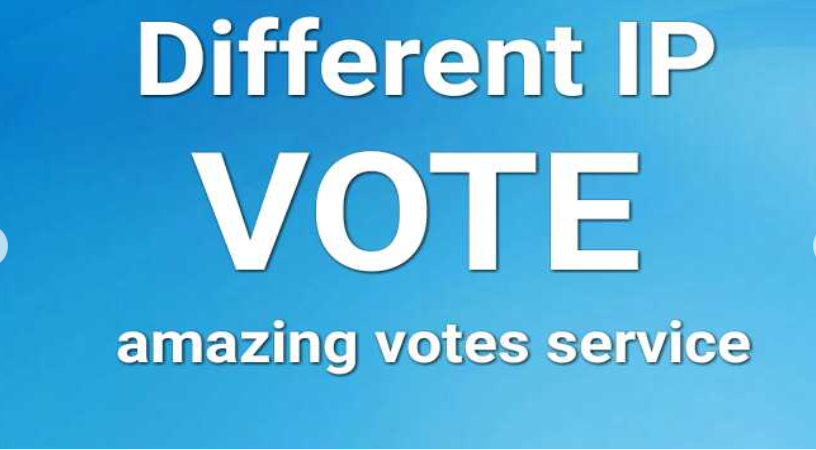 Amazing 500 Real Different IP's Votes IN Your Online Contest for 10