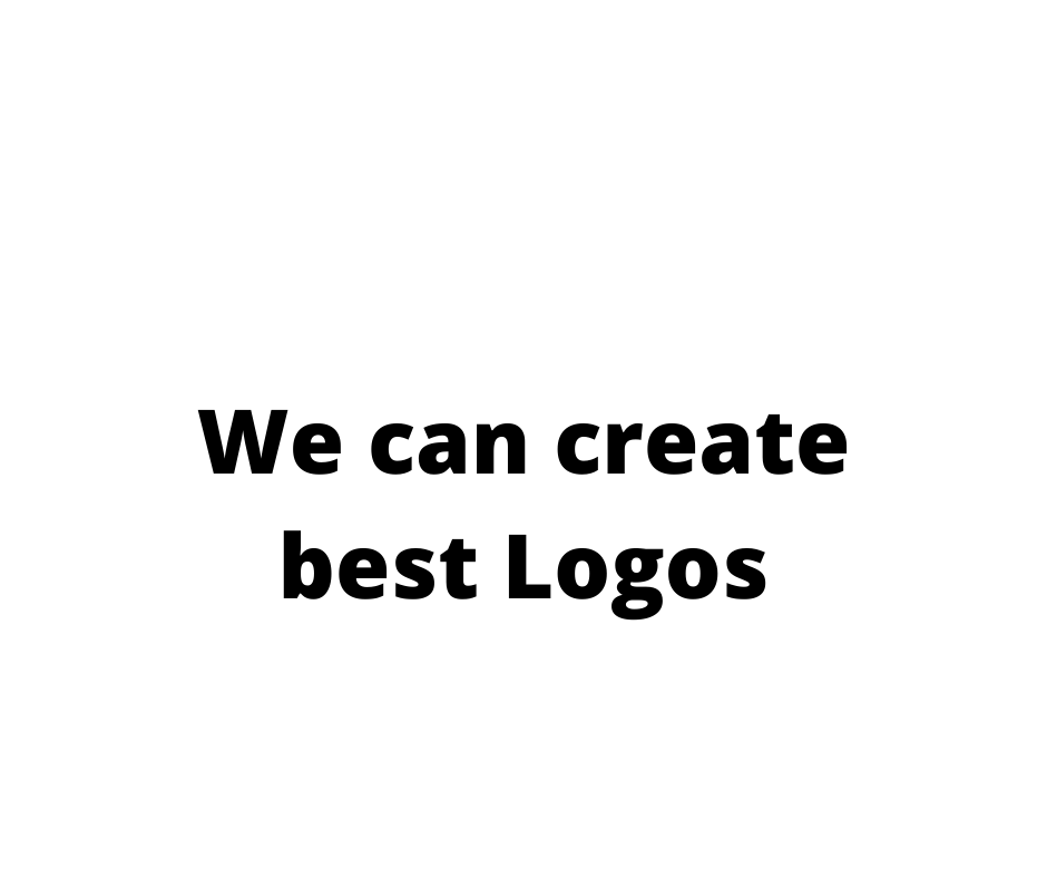We create creative and great logo in short period