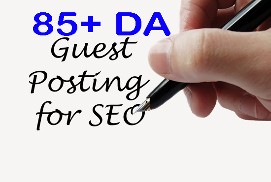 Write and publish 1 Unique guest post on 85 pulse DA SEO backlink