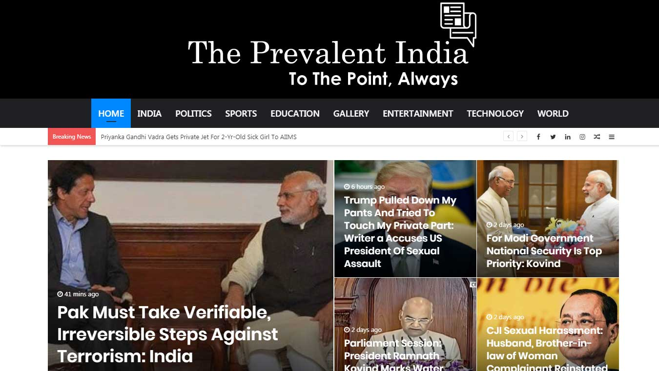 """Get Your Articles on """"The Prevelent India & Buzzfeed"""" Top News Sites"""