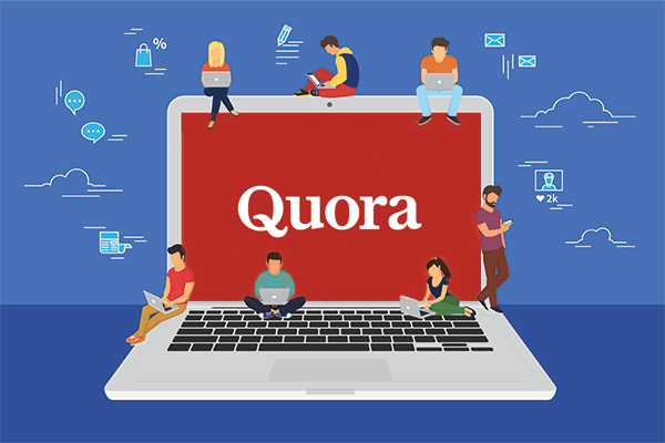 Create 5 Quora answers with your link