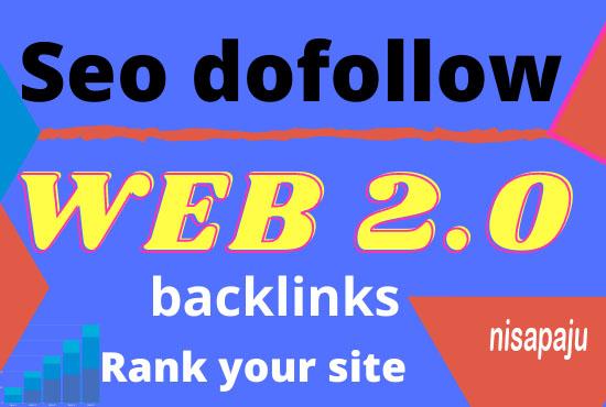 Create 30 high authority web 2.0 dofollow backlinks