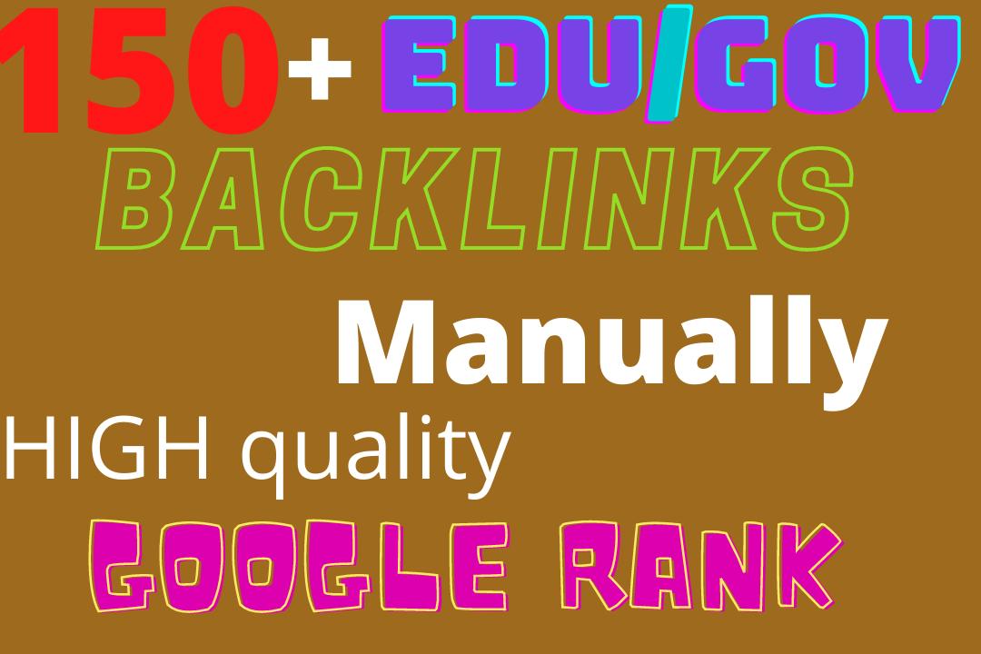 Manually 150+HQ edu. gov. link building & Backlinks for Adult site