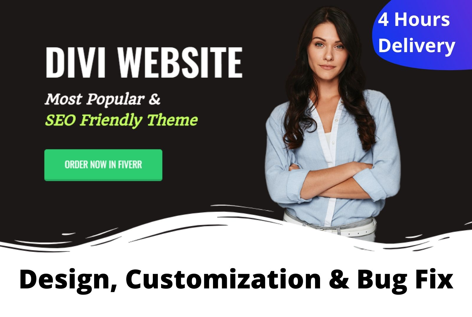 I will create custom WordPress website or Customize any premium theme