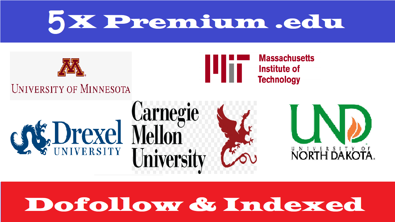 5X Edu Guest Posts On Top Notch University DA70-95+