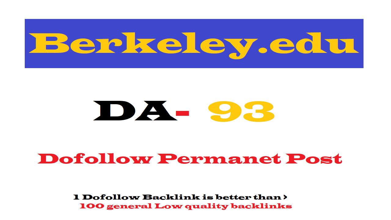 Guest Post on Berkeley.edu DA93