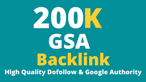 I will build 200k dofollow seo backlinks rank on google top page