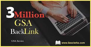 I will build 3Million high quality dofollow SEO backlinks on google top ranking