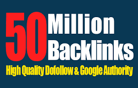 I will build 50Million high quality seo Backlinks for traffic increase of website