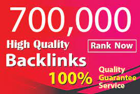 I will make 700,000 high authority quality SEO dofollow backlinks