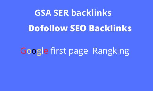 I Will Build 200,000 dofollow SEO GSA SER Powerful backlinks for seo rankings