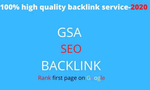 I will Create 400kb GSA Backlink seo service Rank On Google