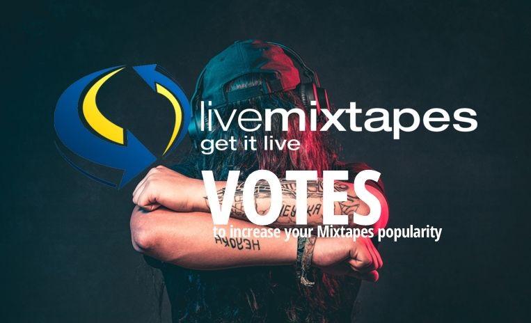 Buy Now 100 Livemixtapes Upvotes