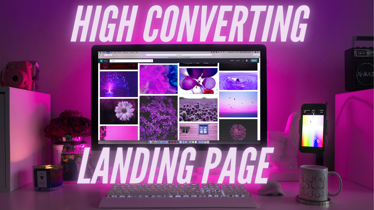I will create a responsive landing page website