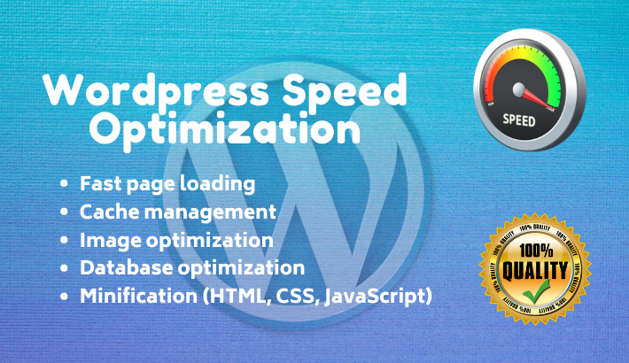 I will do wordpress speed optimization and increase page speed