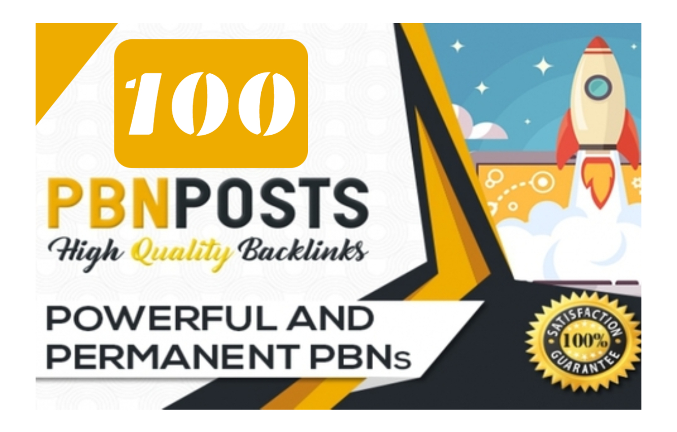I Will Bild Permanent Home Page Dofollow PBN Backlinks And 100% Google Indexing