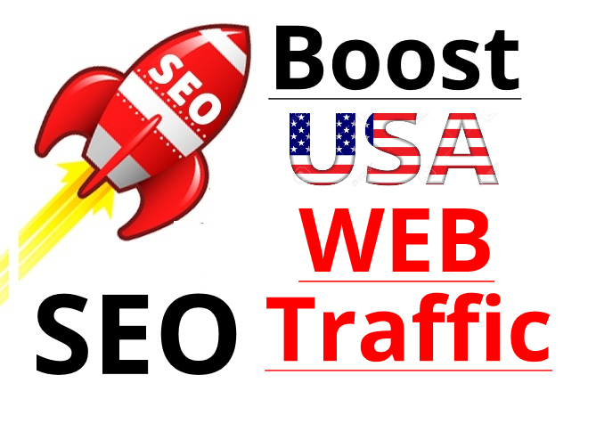 usa Traffic by social media organic traffic seo