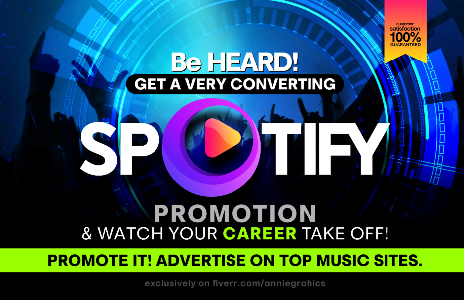 I will do best organic sp0tify promotion for your music track