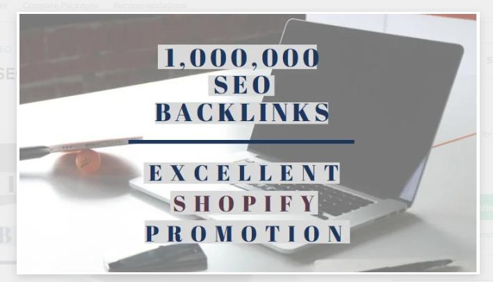 I will do 1 million SEO backlinks for promotion