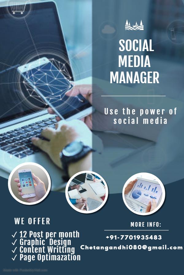 Social Media Manager Covid Offer