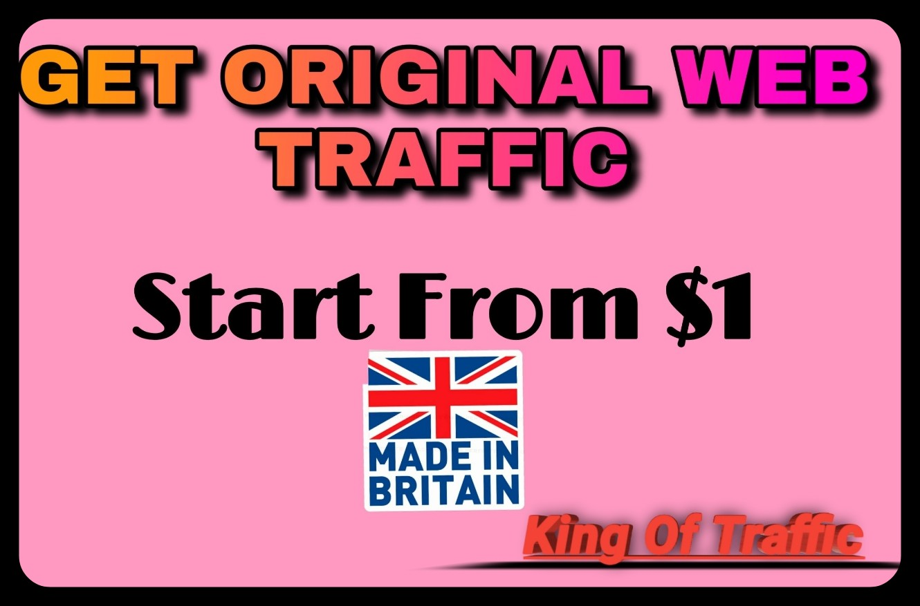 per Day 200+ UK Traffic to your website