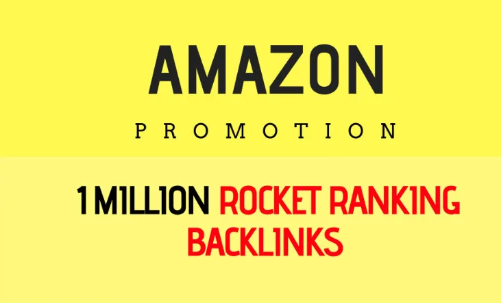 I will fast organic amazon store promotion with 1,000,000 SEO backlinks