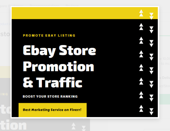 I will do effective ebay store promotion to increase ebay traffic,  sales