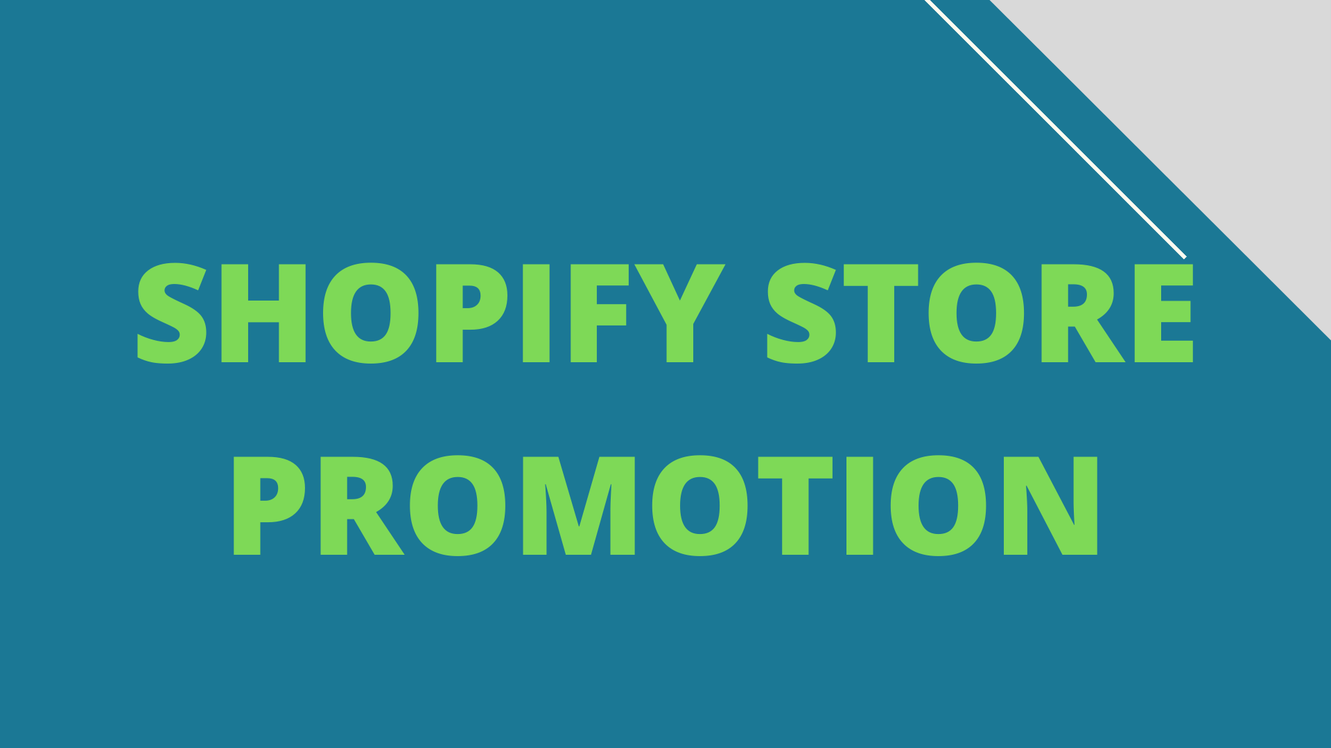 I will provide shopif shop promotion by multi plus backlinks