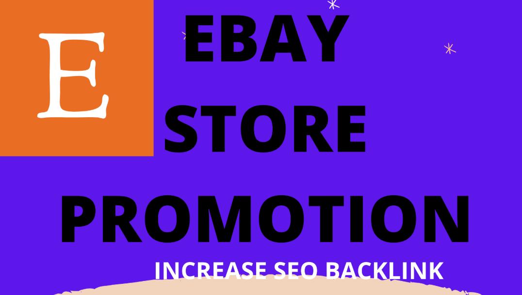 I will do ebay store promotion by 20k seo backlinks