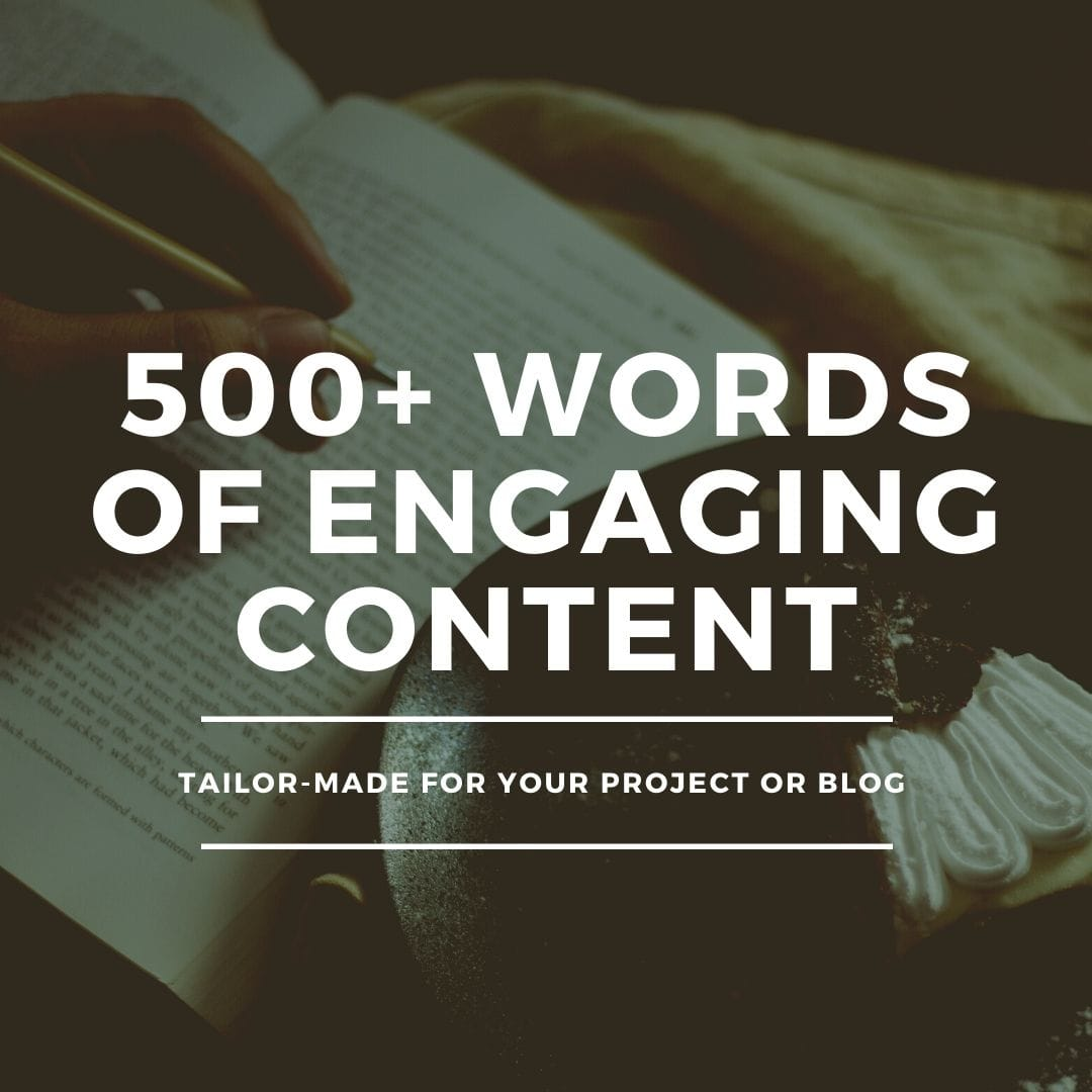 I can write SEO optimized content for your blog