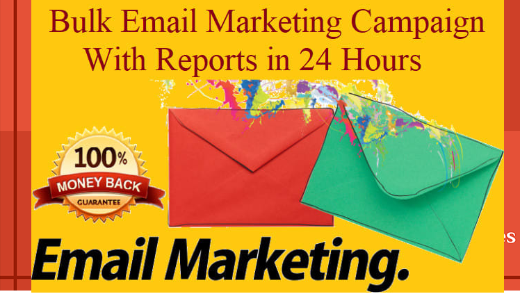I will send bulk email marketing, bulk email blast, email campaign