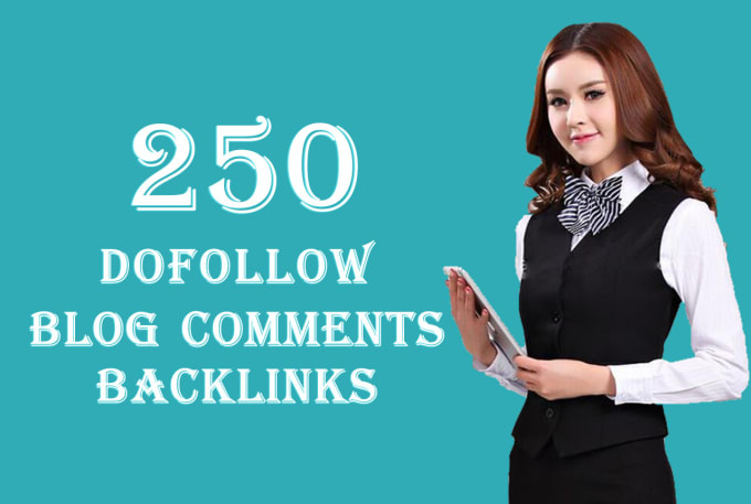 I will submit 250 dofollow blog comments seo backlinks with high da