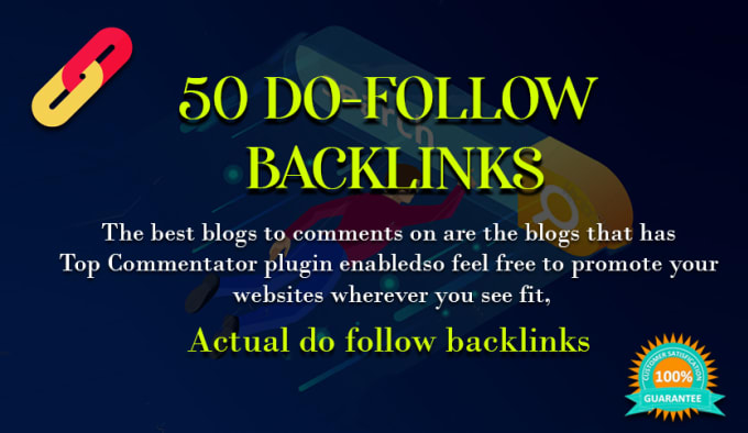I will build permanent dofollow SEO backlinks link building service