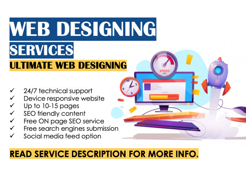 WordPress Static Website Designing Services