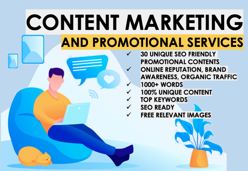 ORM Content Marketing and Promotional Services for 30 Days