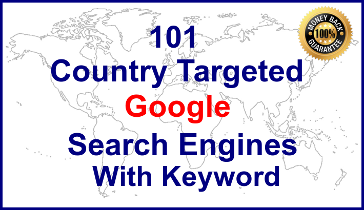 Google Organic Keyword Targeted Website Traffic