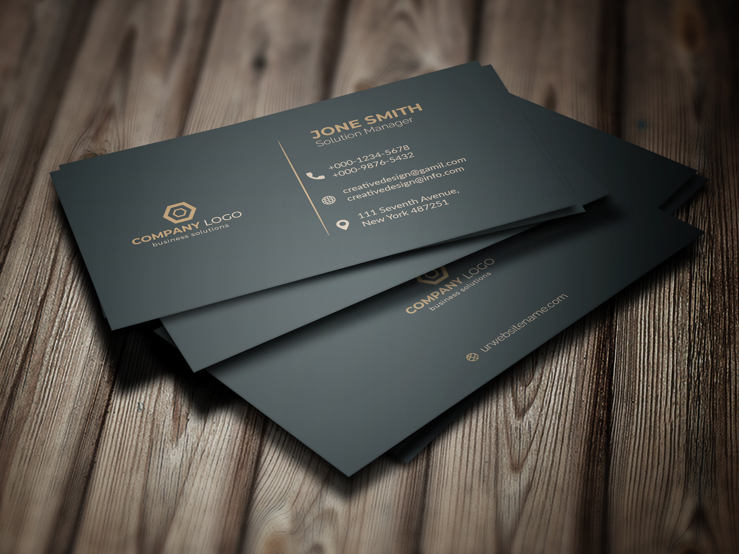 I will design a perfect business card for you