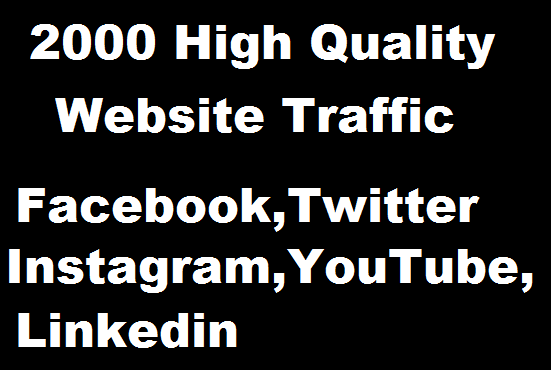 Bring Real 2000 Visitors to your Website