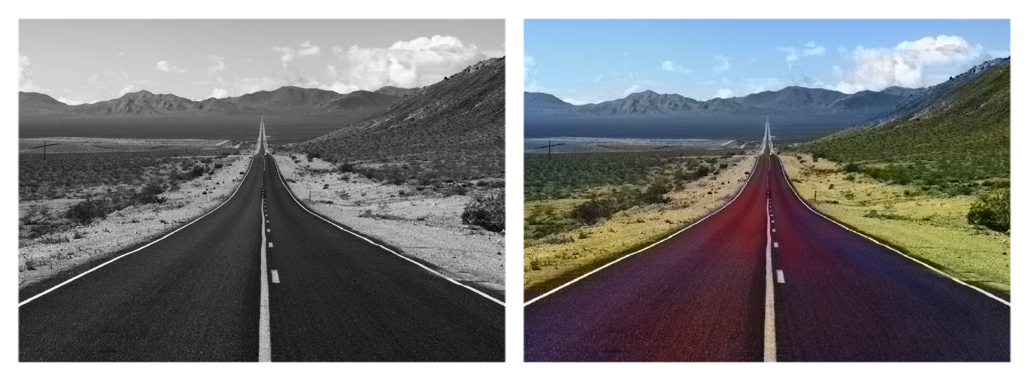 Color your old photos and modernize them