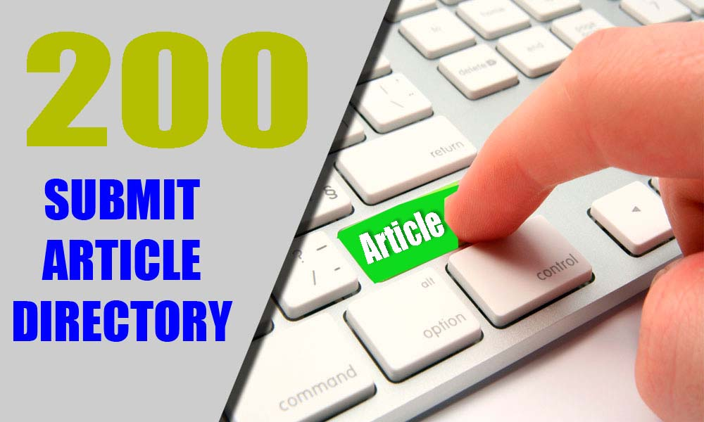 Build 200 Article Directories Backlinks Excel File And Login Details for your website