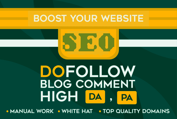 I will create 100 dofollow blog comment quality backlinks