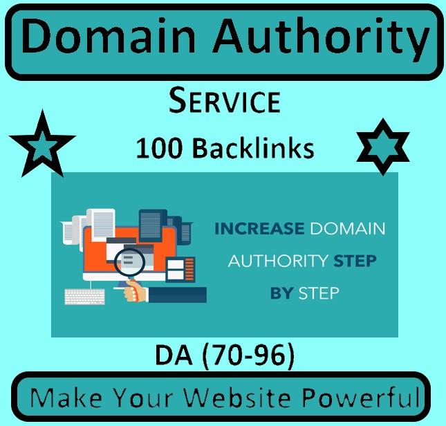 I will do Rank your website with 100 High Authority SEO Backlinks for Google first page