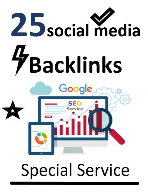 I will Create 25 social media profile backlinks For Google SEO