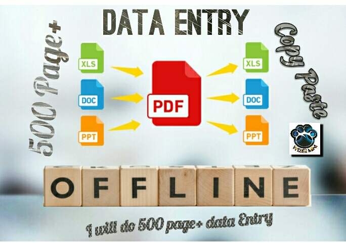 I will do excel data entry,  copy paste,  typing,  data entry
