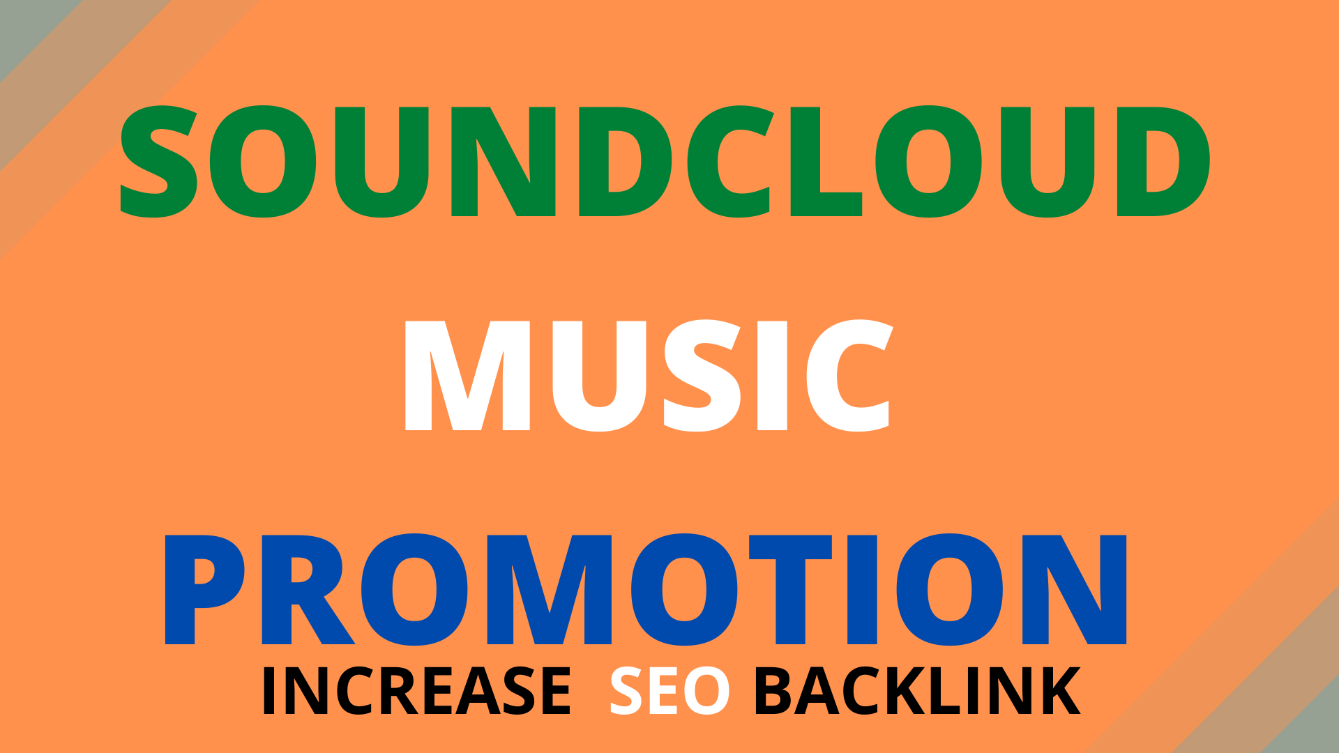 I will build SEO backlinks for music promotion