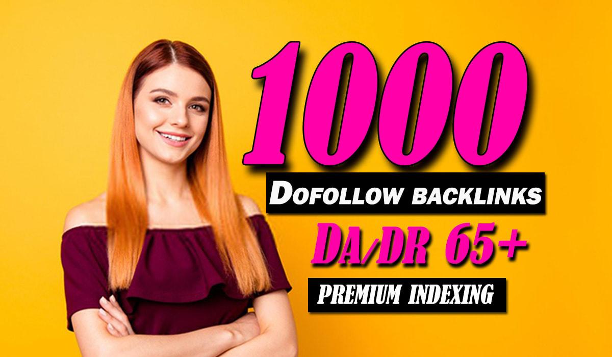 do 1000 Web 2.0 high quality contextual SEO dofollow backlinks